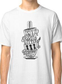 Steampunk Teacups Classic T-Shirt