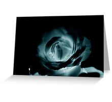 Inverted rose Greeting Card