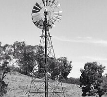 Old Windmill, Bathurst, NSW by MattLawson