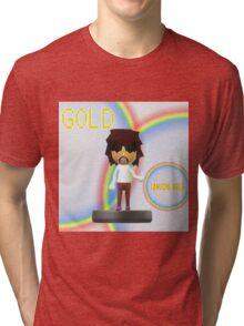 Tanuchi Gold Amiibo Tri-blend T-Shirt