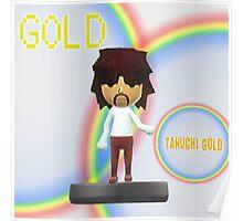Tanuchi Gold Amiibo Poster