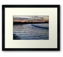 Shimmering Shore - Griffiths Island Framed Print