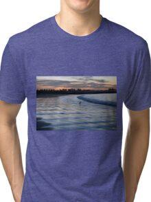 Shimmering Shore - Griffiths Island Tri-blend T-Shirt