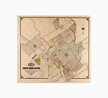 Vintage Map of San Jose California (1886) Unisex T-Shirt