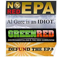 Defund The EPA Poster