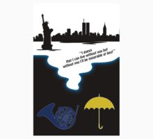 How I met Your Mother Tribute ( Mayday Parade quote) One Piece - Short Sleeve