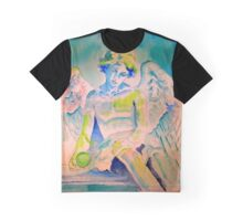Angel with Green Ball Graphic T-Shirt