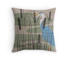 Wetlands Verso Throw Pillow