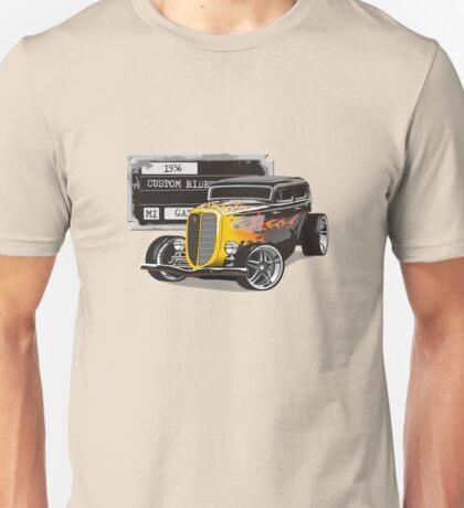 Retro Hot Rod Unisex T-Shirt