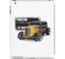 Retro Hot Rod iPad Case/Skin