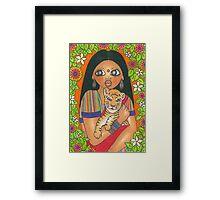 Amar Framed Print
