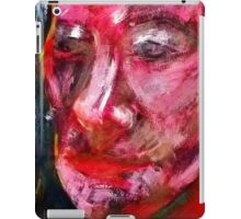 Portrait on Black iPad Case/Skin