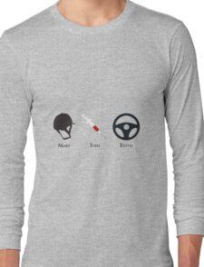 Downton Ladies minimal Long Sleeve T-Shirt