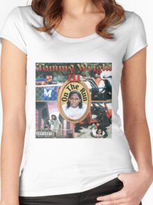 Tommy Wright On The Run Women's Fitted Scoop T-Shirt