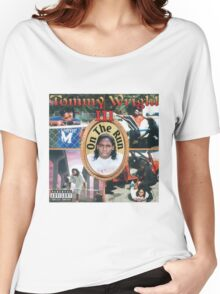 Tommy Wright On The Run Women's Relaxed Fit T-Shirt
