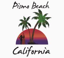 Pismo Beach California One Piece - Short Sleeve