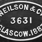 1887 Neilson & Co Builders Plaque by threewisefrogs