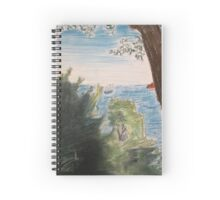 Paysage marin Spiral Notebook