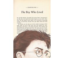 The Boy Who Lived Photographic Print