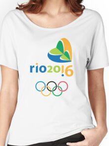 Logo Rio 2016 Women's Relaxed Fit T-Shirt