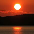 Looking from Mill Bay, Vancouver Island, Canada by AnnDixon
