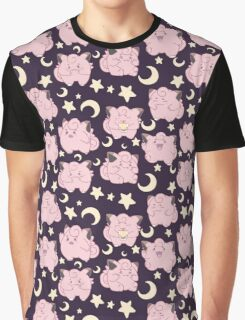 Clefairy - Dark Version Graphic T-Shirt