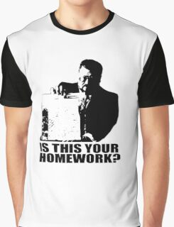 The Big Lebowski Walter Sobchak Homework T shirt Graphic T-Shirt