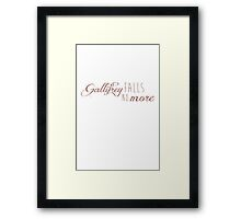 Doctor Who - Gallifrey falls, no more. Framed Print