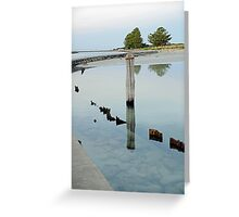 Clear Water - The Causeway - Griffiths Island Greeting Card