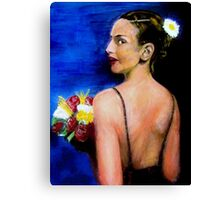 The Bridesmaid Canvas Print