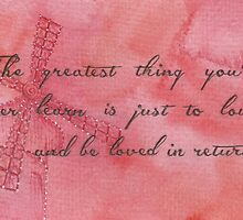 The Greatest Thing You'll Ever Learn... by Jade Jones