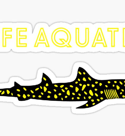Life Aquatic Sticker