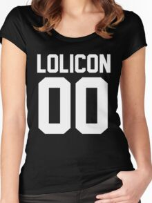 Lolicon 00 Women's Fitted Scoop T-Shirt