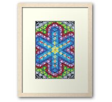 1210 - Obvious Star Expansion shining Strong Framed Print