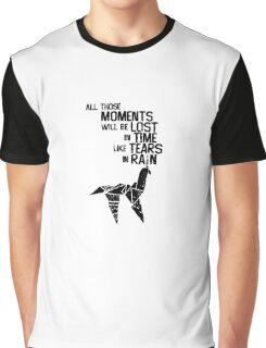 blade runner tears in the rain Graphic T-Shirt