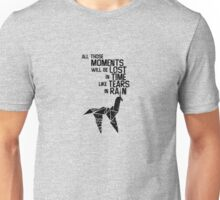 blade runner tears in the rain Unisex T-Shirt