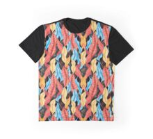 Сolorful pattern with leaves Graphic T-Shirt