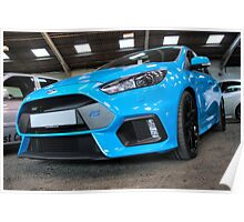 Blue Focus RS Poster