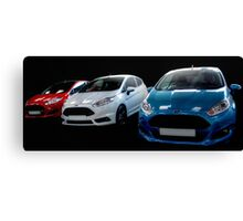 Red, White and Blue Fiestas Canvas Print