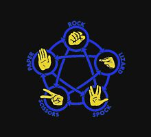 Rock Paper Scissors Lizard Spock Tshirt Unisex T-Shirt
