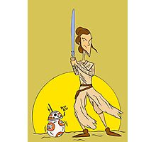 """""""She Is Strong in the Force"""" Photographic Print"""