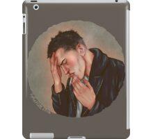 A rebel and a victim iPad Case/Skin