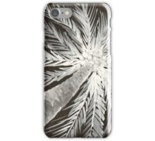 coconut tree watercolor iPhone Case/Skin