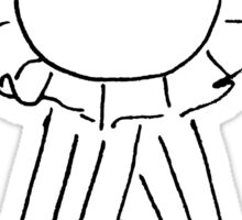 PRE-E Ribbon Sticker Sticker