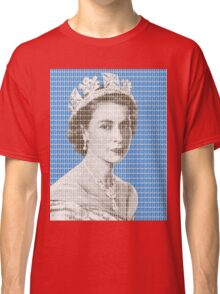 God Save The Queen - Blue Classic T-Shirt
