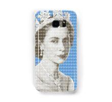 God Save The Queen - Blue Samsung Galaxy Case/Skin