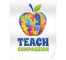 Teach Compassion Poster