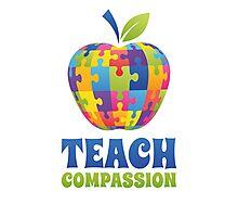 Teach Compassion Photographic Print