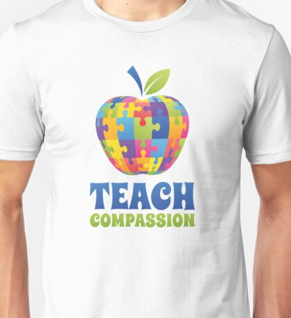 Teach Compassion Unisex T-Shirt