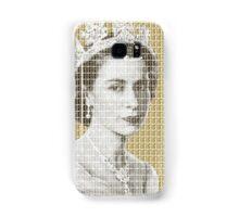 God Save The Queen - Gold Samsung Galaxy Case/Skin